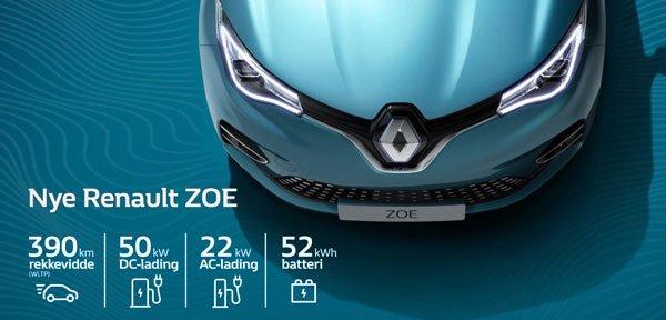 Nye Renault Zoe